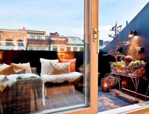 Consejos para aprovechar tu terraza en el invierno